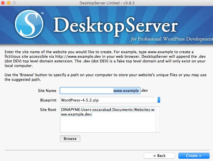 DesktopServer crer primer sitio 02