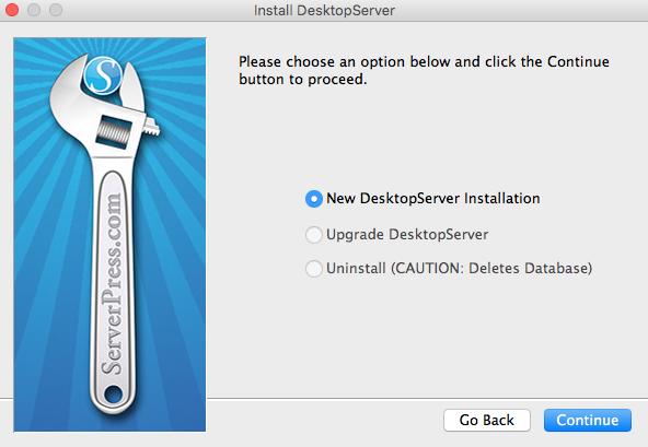 Instalacion desktopserver limited 02