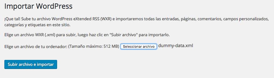 dinapyme - importar contenido de demostracion para woocommerce 07