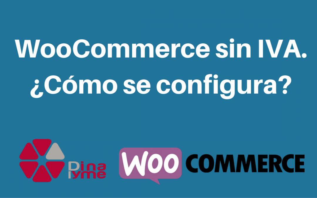 WooCommerce sin IVA. Cómo se configura