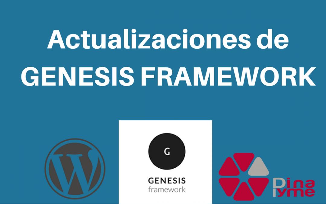 Ya está aquí Genesis Framework 2.4