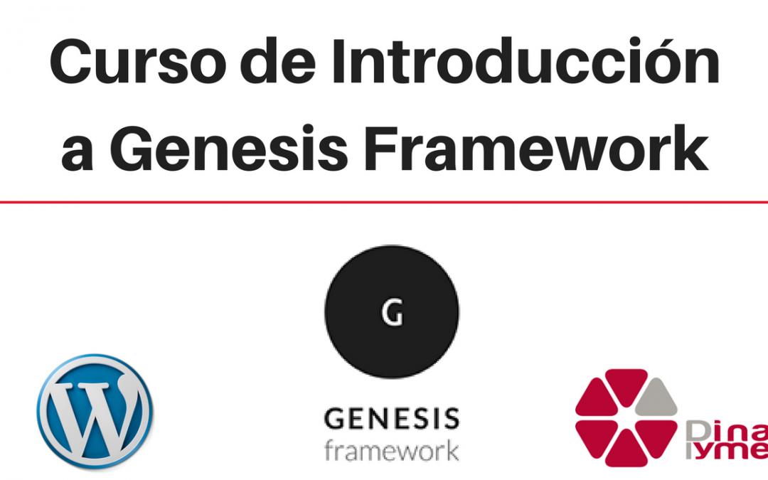 Curso de Introducción a Genesis Framework