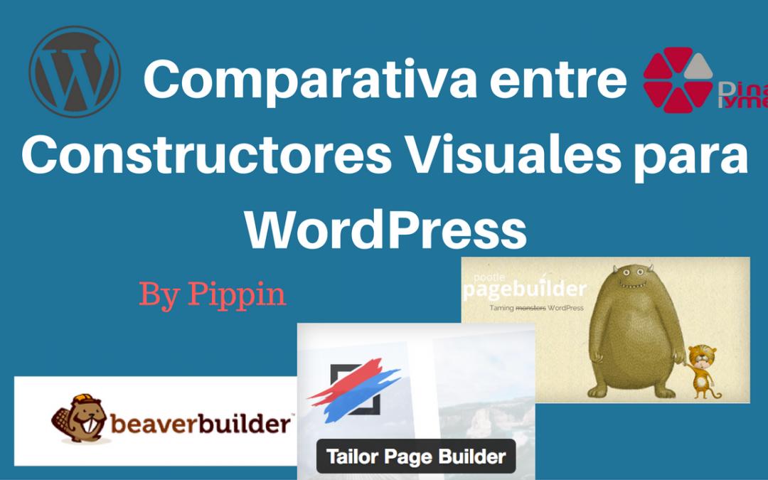 Los mejores Constructores Visuales para WordPress según Pippin