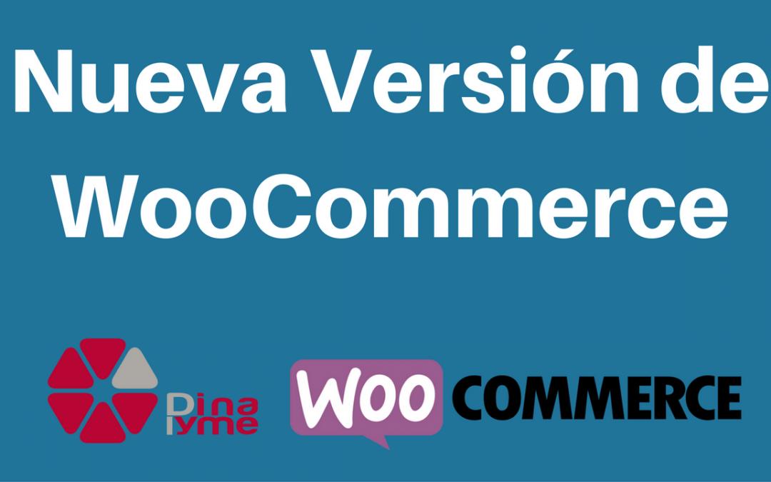 Nueva Actualización de WooCommerce 2.6.8