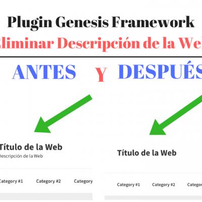 plugin-genesis-eliminar-descripcion-web