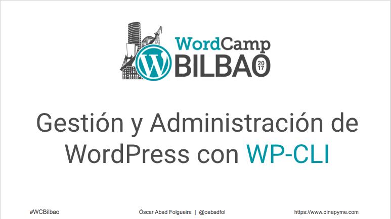 Gestión y Administración de WordPress con WP-CLI